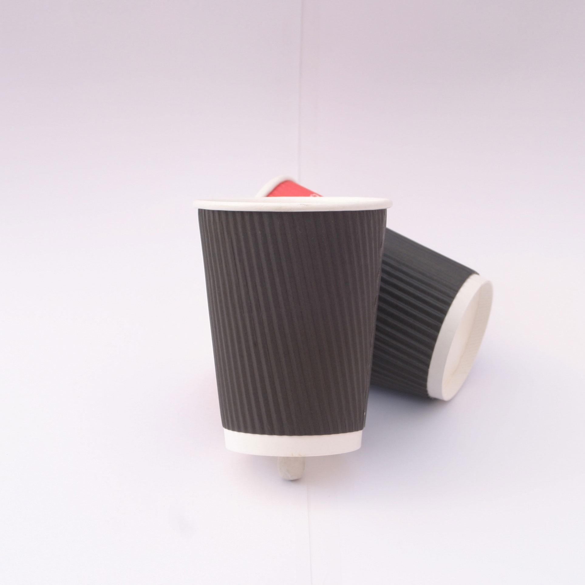 Kraft Ripple Cups Image