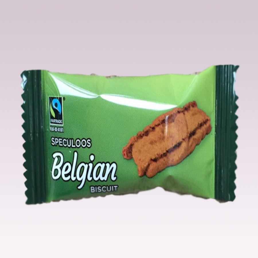 Speculoos Fair Trade Belgian Biscuits Image
